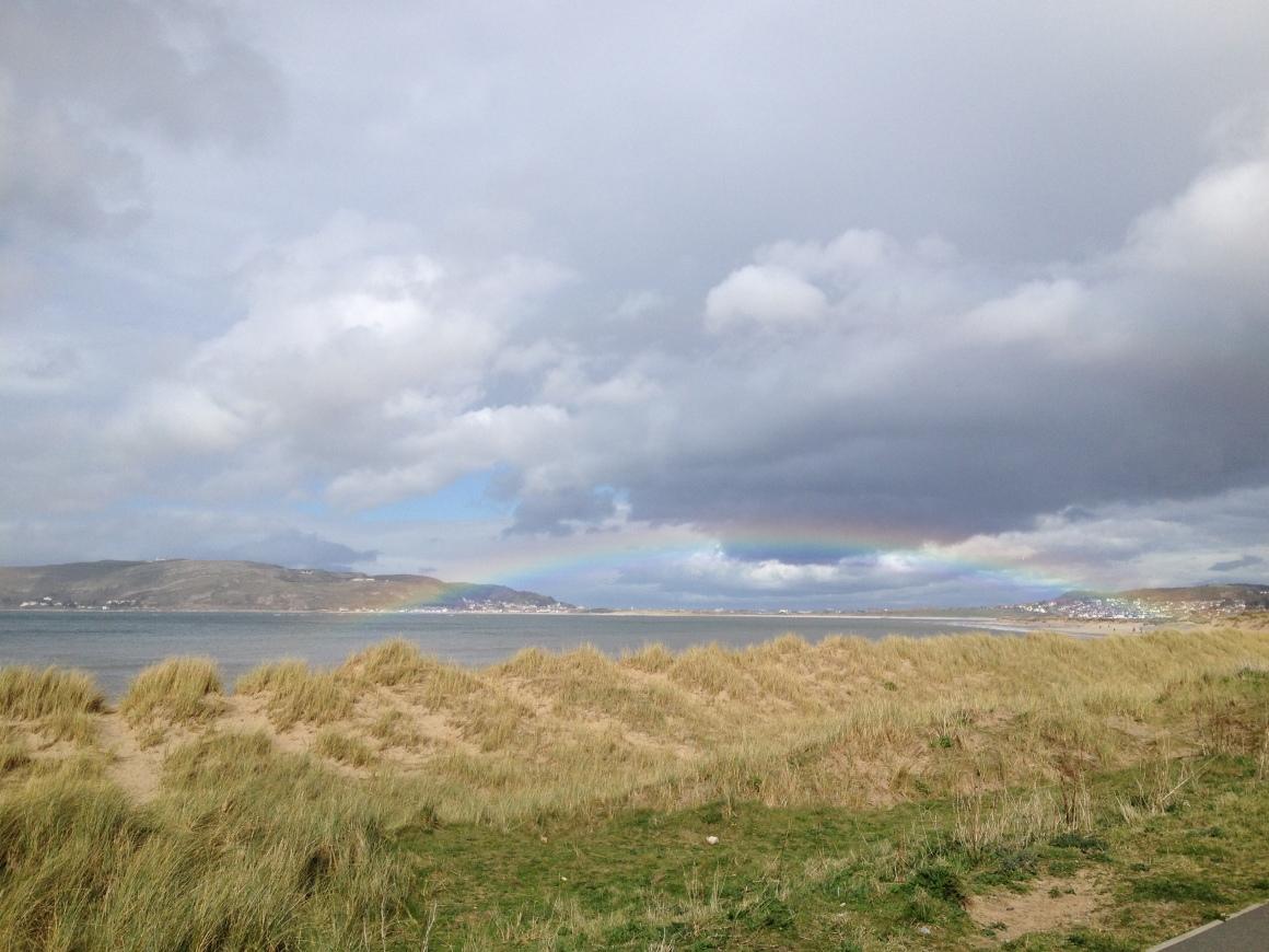 Coastal Path - Rainbow